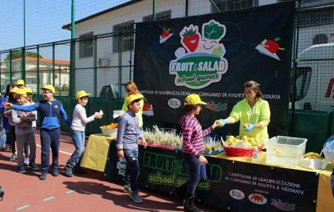 Fruit&Salad School Games: venerdì la presentazione delle novità 2018