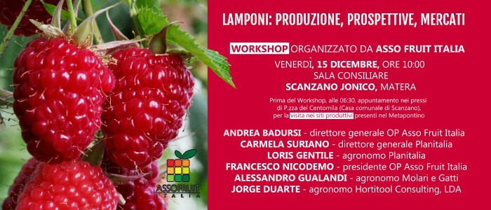 Invito workshop del 15 dicembre 2017 a Scanzano Jonico